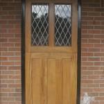 Oak Double Glazed Door