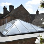 Stunning Timber Roof Lantern opening vent