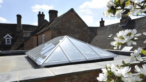 Timber Roof Lantern opening vent stunning