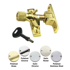 Brighton narrow sash fastener