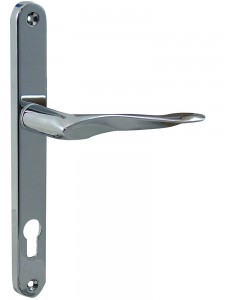 MHP60 multi-point door Handle satin chrome