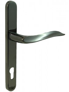 MHP60 multi-point door Handle smoky chrome