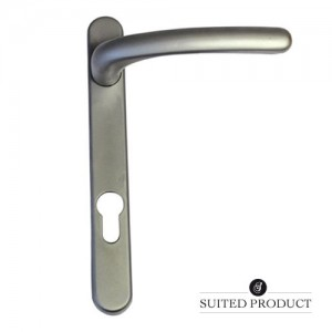 Windsor multi-point door handle Satin Stainless