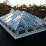 timber Wooden Roof Lantern Light Skylight Hampshire