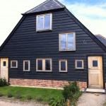 Double glazed oak stable doors casement windows