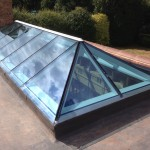 wooden Timber framed Roof Lantern glazing
