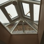 Timber Roof Lantern opening vents windows hardwood