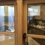 Oak casement window Medina Joinery