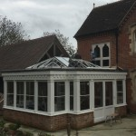 Hardwood timber Orangery Roof Lantern doors wooden