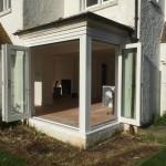 Wooden Bi-fold doors