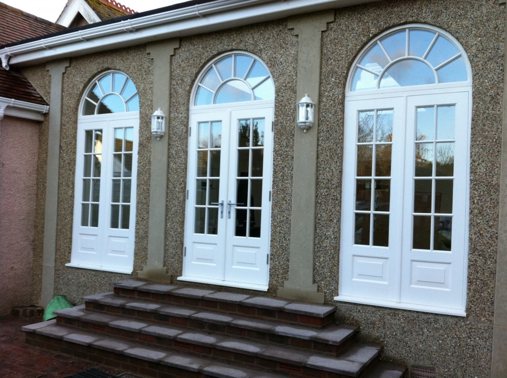 Timber Round Top Arched Windows And Doors Medina Joinery