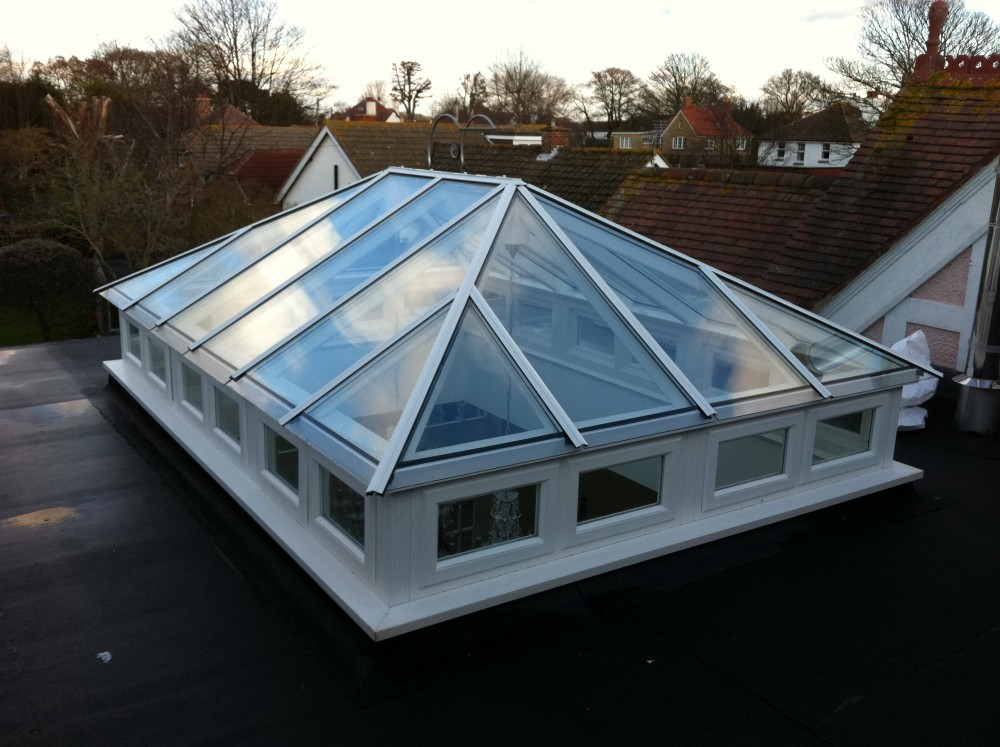 Timber or wooden Roof Lights, Skylights, Roof Lanterns ...