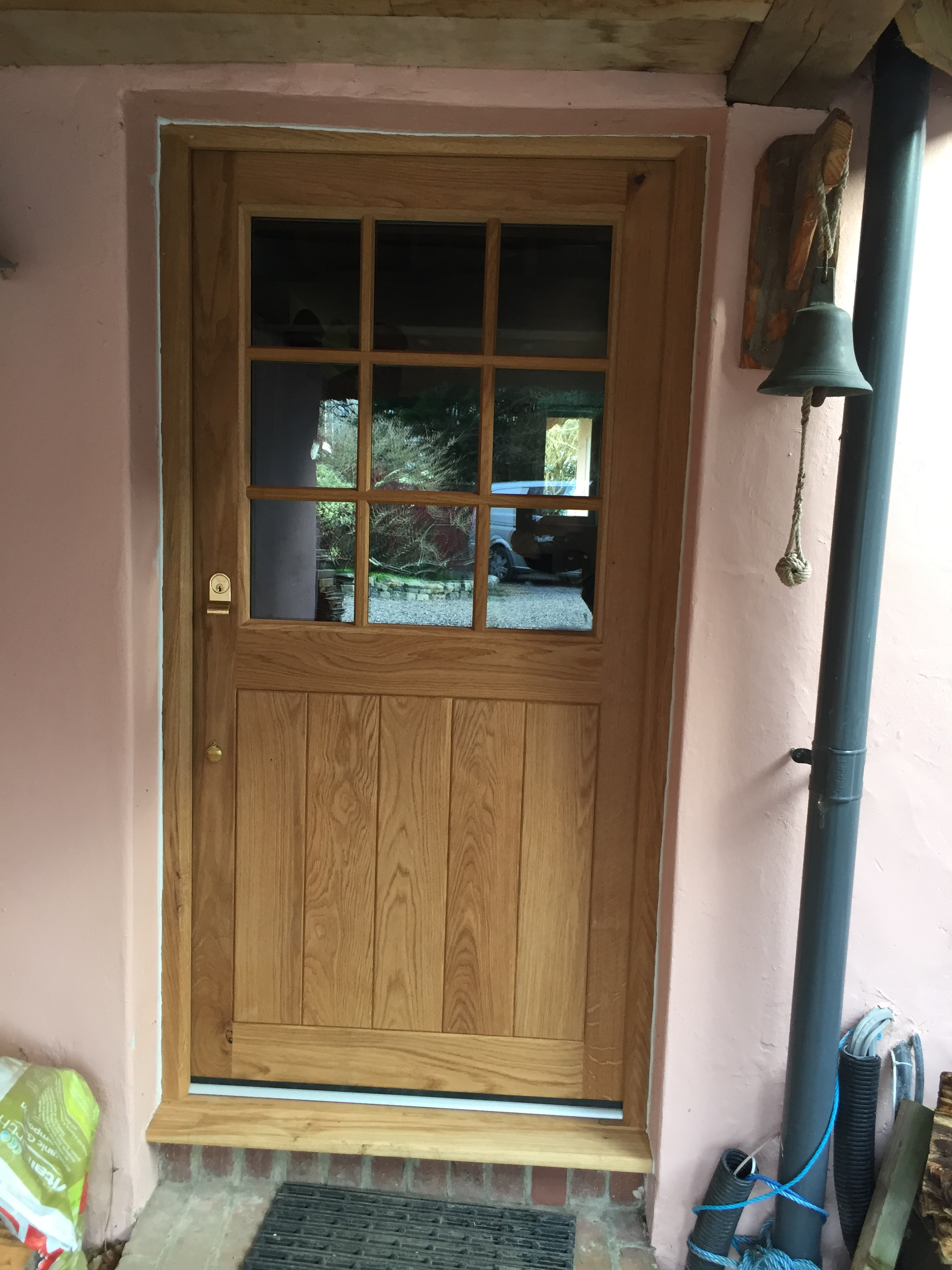 Oak And Accoya Timber Doors Medina Joinery