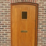 Hardwood Oak Front Door oiled