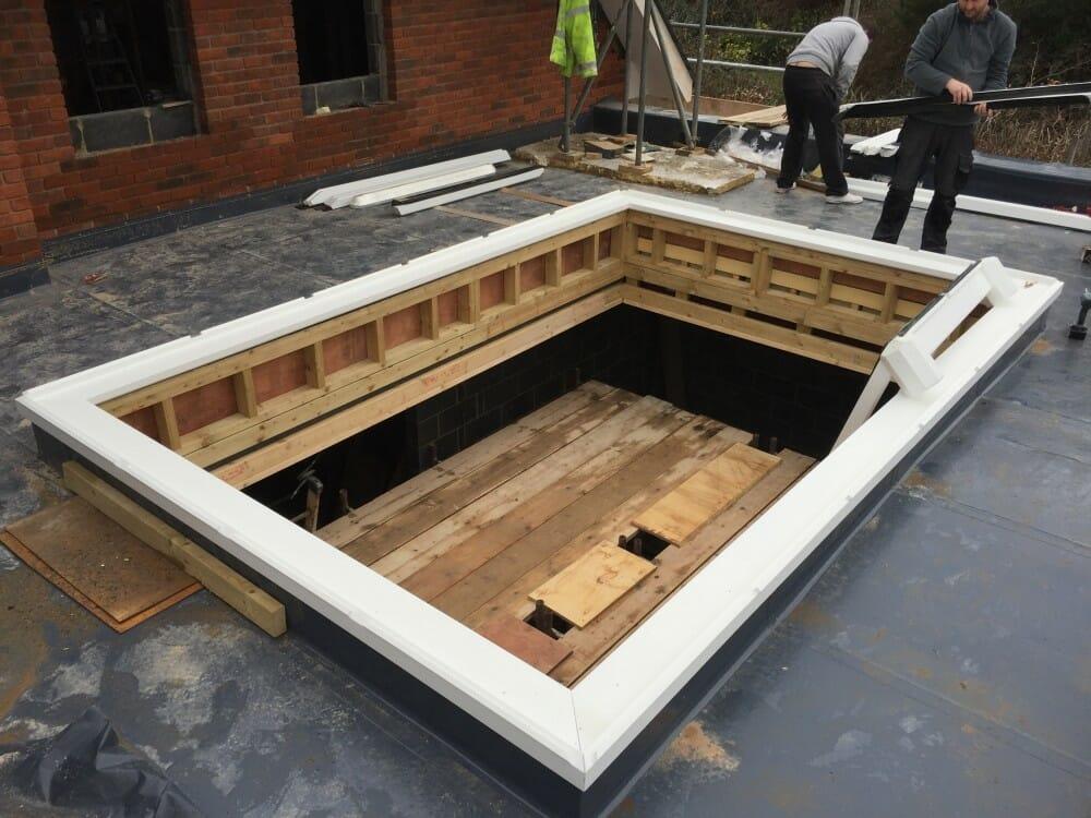 Installing A Hardwood Timber Roof Lantern Medina Joinery