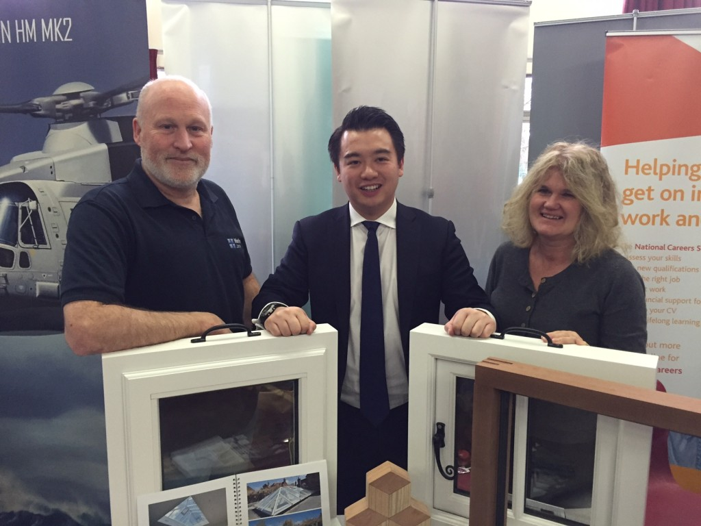 Medina Joinery MP Alan Mak apprenticeships