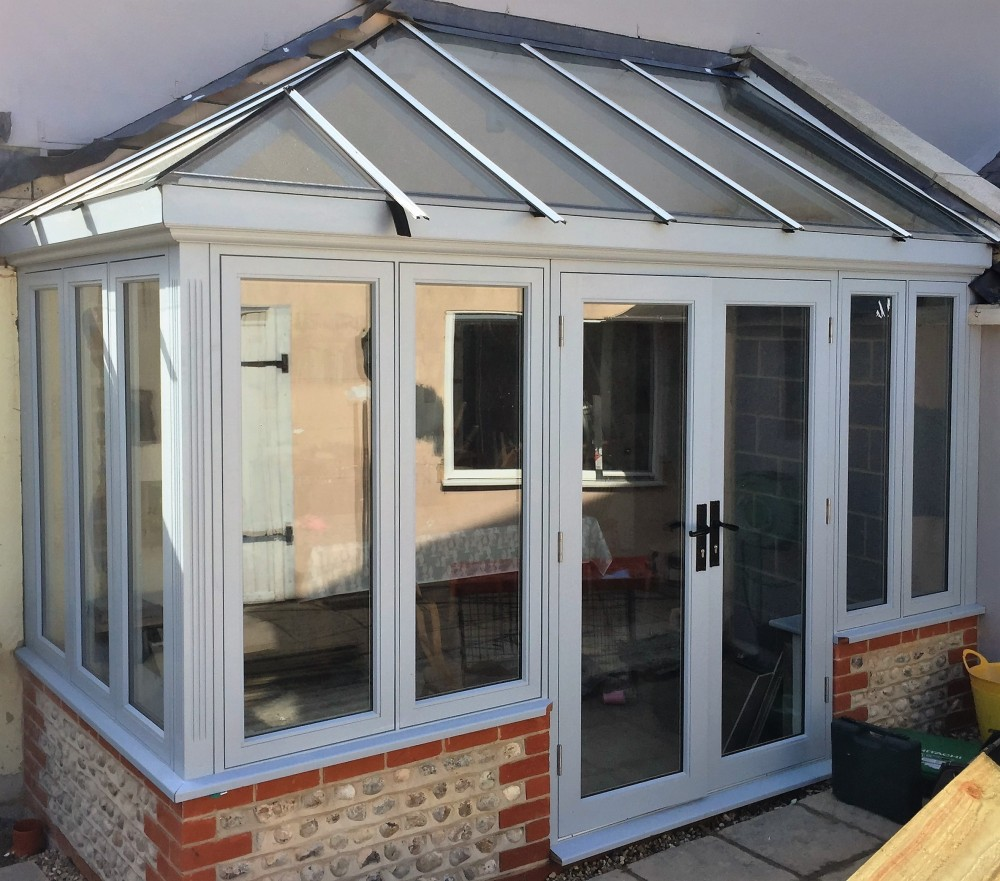 Lean To Timber Conservatory Medina Joinery