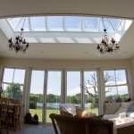 Flat roof Timber Roof Lantern Skylight Lanterns