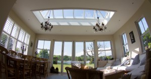 Wooden Timber Roof Lantern Skylight Lanterns Hampshire