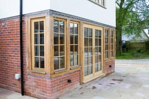 Timber Roof Lanterns, windows and doors