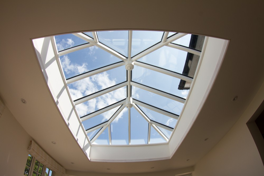 Timber or wooden roof lights skylights roof lanterns for Cupola windows