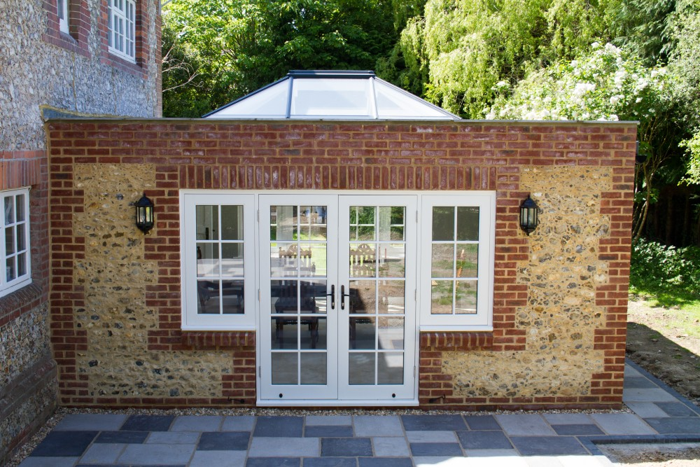 Wooden roof lanterns windows and doors medina joinery for Timber french doors