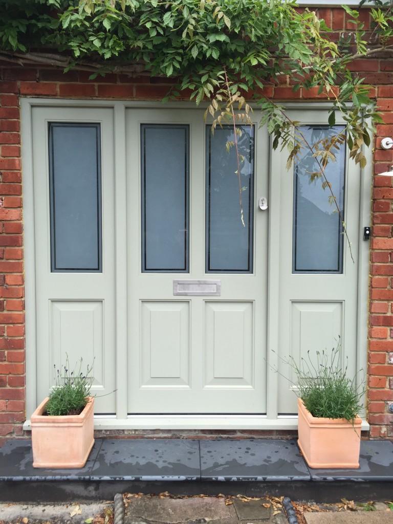 Accoya Timber Painted Front Door