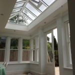 Timber Roof Lantern accoya windows oak