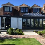 Timber Bifold doors, Timber Lantern Roofs