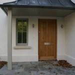 Panelled Oak Front Door