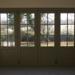 Accoya Bi-fold Bi fold Folding Doors internal