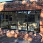 Oak Jacobean windows leaded glass