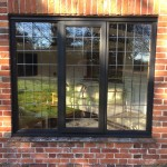 Jacobean Oak windows leaded glass Hampshire UK