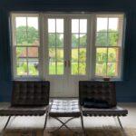 Accoya French doors Sash sidelights timber patio
