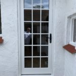 Accoya door timber side entrance glass georgian