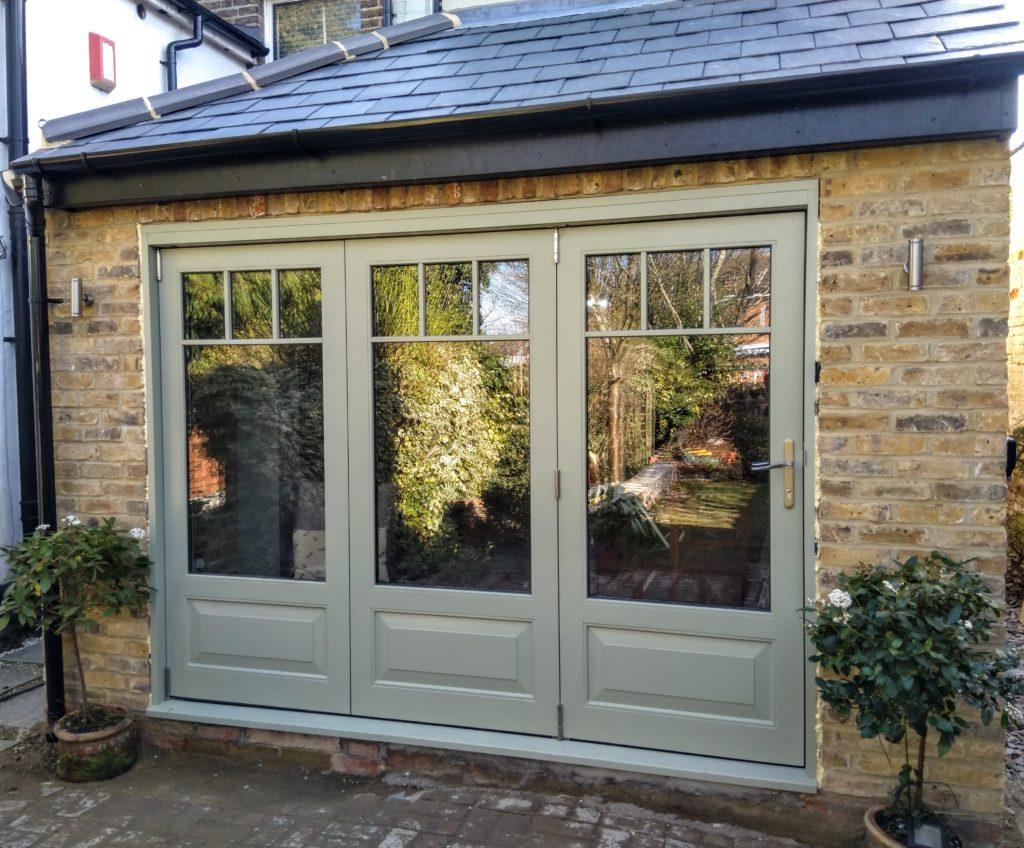 Accoya Bifold Bi-fold folding doors timber patio door