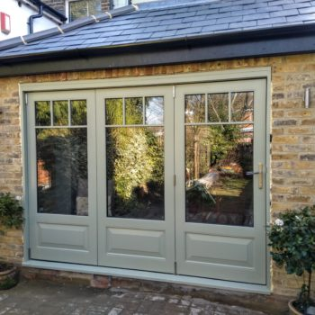 Accoya Bifold Bi-fold folding doors timber patio door