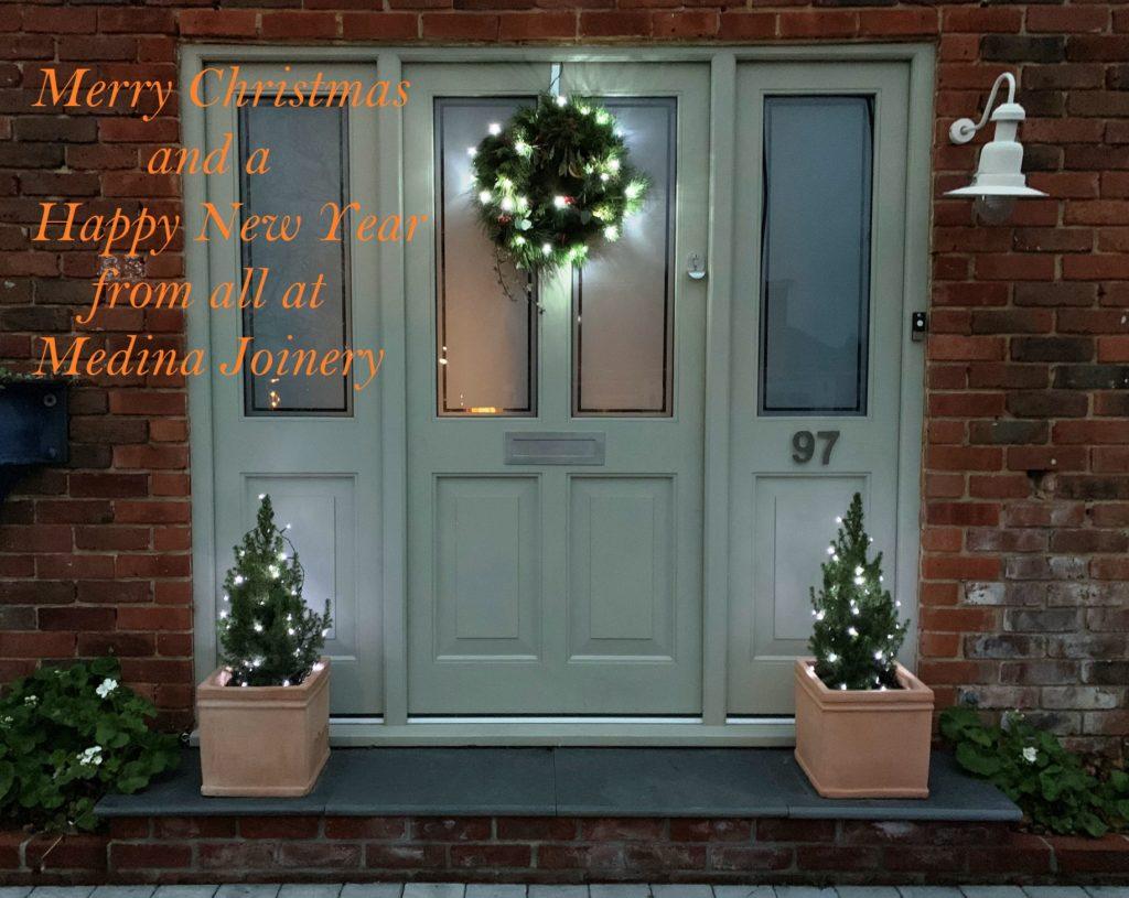 Merry Christmas Happy New Year Medina Accoya