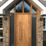Oak timber Front entrance door