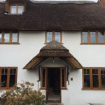 Oak windows timber character cottage