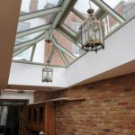 Timber Roof Lantern painted F&B French Grey