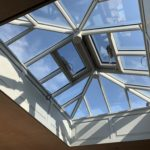 Timber Roof Lantern with panelled aperture