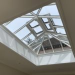 Timber Roof Lantern panelled aperture Skylight Light