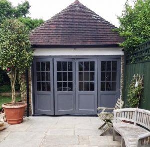 Timber Bifold patio doors