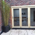 Wooden Timber accoya bifold folding doors