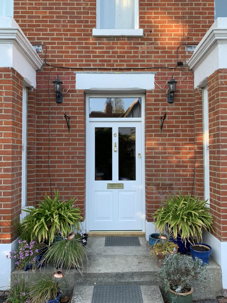 Accoya Timber front door