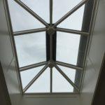 Timber skylight panelled aperture Lantern