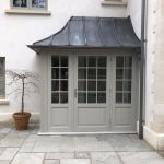 Accoya Front door porch wooden stunning timber