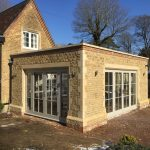 Timber Accoya Orangery Patio French doors