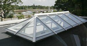 Timber wooden Roof Lantern Light skylight window